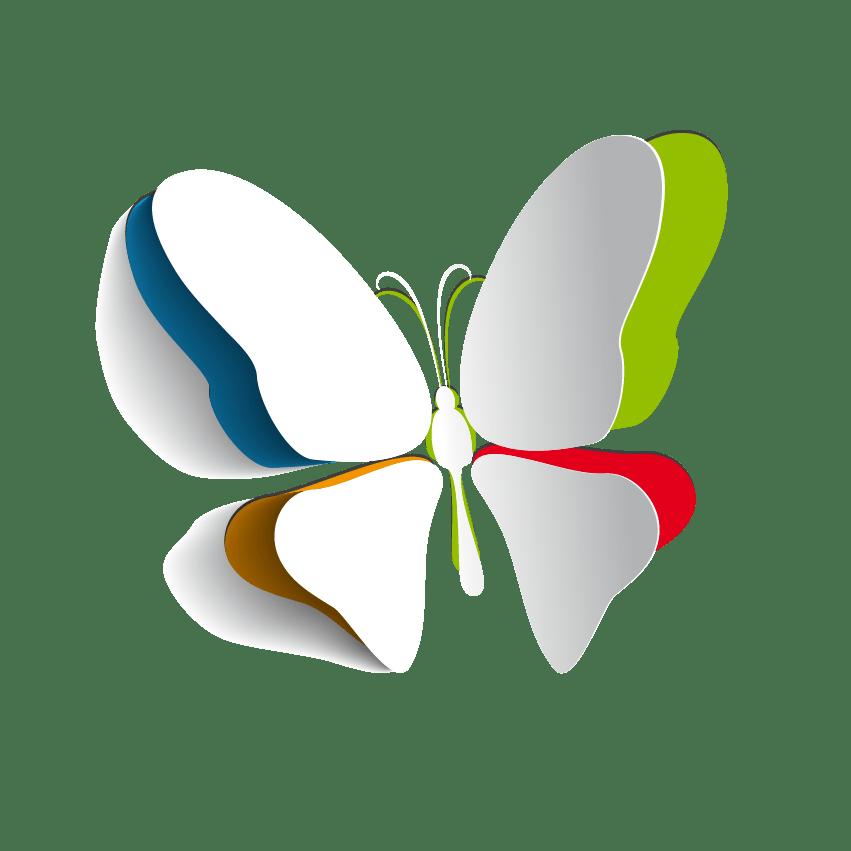 Butterfly papercut