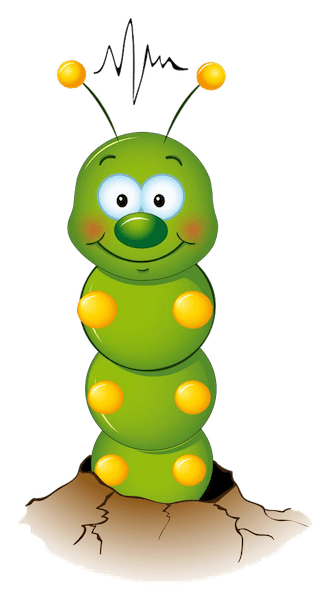 caterpillar artwork cartoon